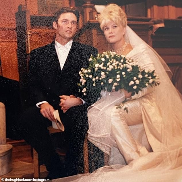 Fate: Hugh and Deborra-Lee tied the knot on April 11, 1996, just a year after they met.  The couple met on the set of Australian drama Corelli, with Hugh saying he knew he was going to spend the rest of his life with Deborra-Lee after just two weeks.