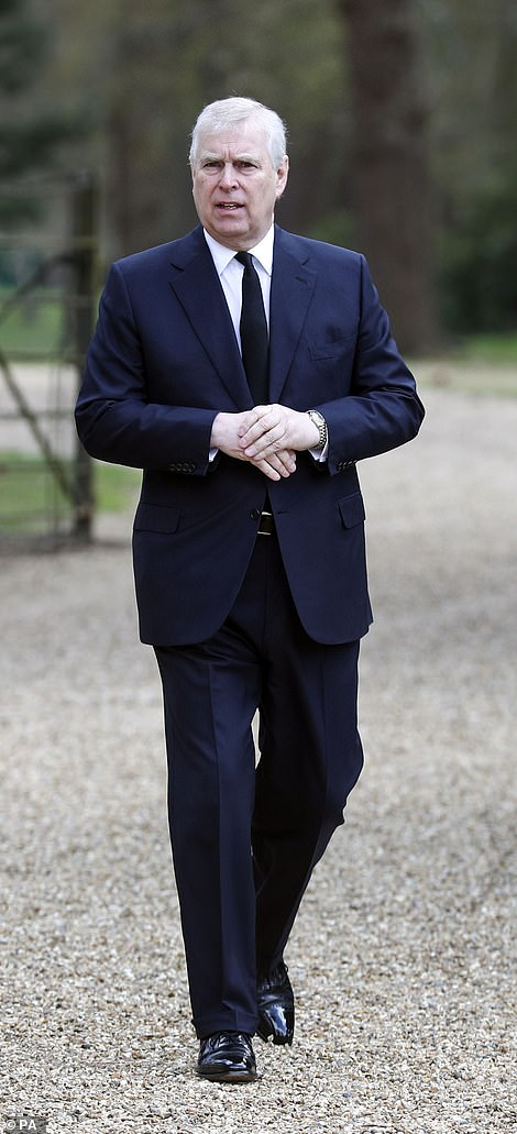 Prince Andrew said the Queen is 'an incredibly stoic person', but said Philip's death had left her grieving and 'she is feeling it more than anyone'