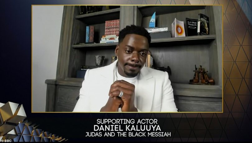 Next stop... The Oscars?The star-studded ceremony, filmed at London 's Royal Albert Hall, saw a huge night of success of international talent, with Daniel Kaluuya continuing his clean sweep with a win for Best Supporting Actor