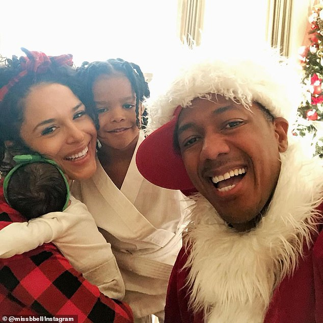 Bell announced Powerful's arrival on Christmas Day in an Instagram post (above)
