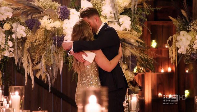 For good:The pair declared that they had 'found their fairytale' in one another and vowed to stay together as they embraced and kissed passionately