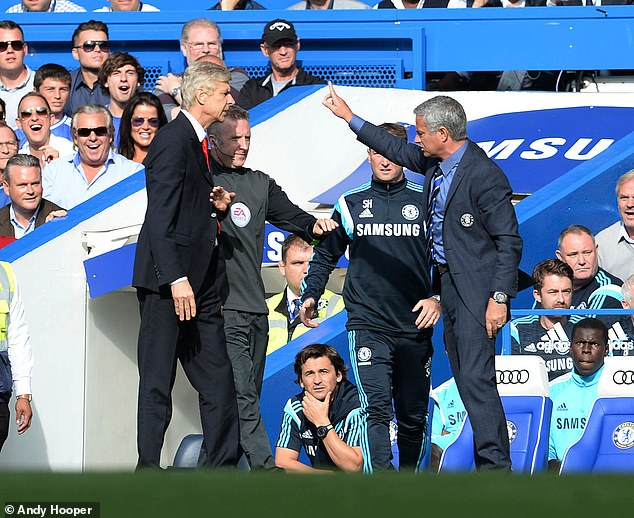 In October 2015 tempers spilled over massively as Mourinho and Wenger got into a heated row