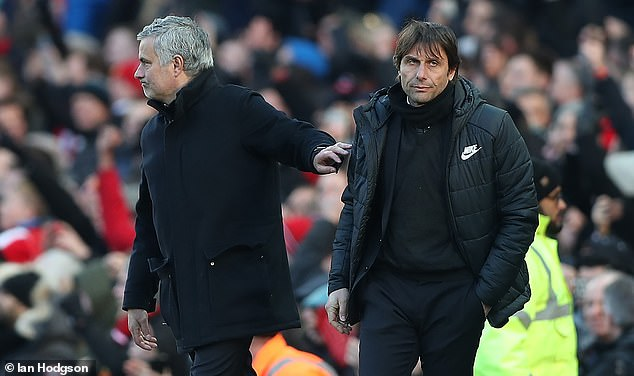 Conte accused Mourinho of having 'senile dementia', while his hair transplants were mocked