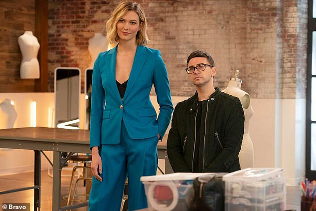 Fashion: Christian Siriano, Nina Garcia, Brandon Maxwell and Elaine Welteroth are also expected to return alongside Kloss, who is set for a number of guest appearances in a 'reinvention' of the role of host, a source told Variety.