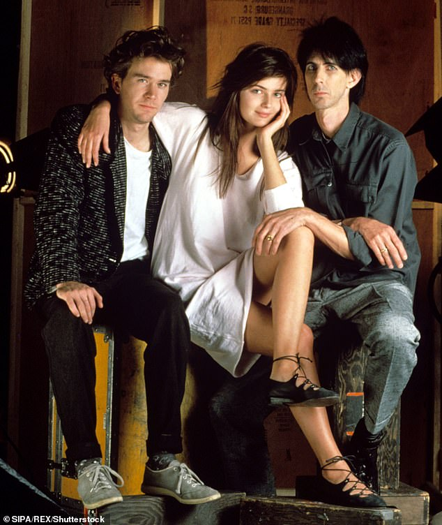 Memories: Paulina was only 19 when she met her late husband on the set of the music video for The Cars hit 'Drive' in 1984 (pictured), and they married five years later