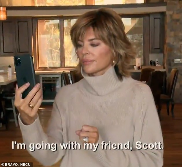Say what now? Lisa was blunt with her daughter during a FaceTime included in the RHOBH trailer, where pal Kylie Richards said 'He's too damn old... and he's got three kids' in the background, to Rinna's agreement