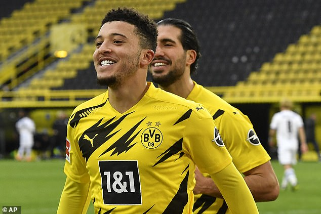 Jadon Sancho could not agree terms with Manchester United over a deal last summer