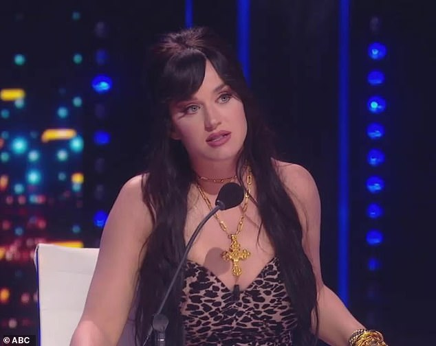 Praise: 'I think you do have a little bit of an angle in this competition that you're an authentic singer-songwriter,' Katy Perry told Pike. 'I think whatever happens, you're it'