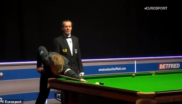 Louis Heathcote produced arguably the greatest snooker shot in the history of the game
