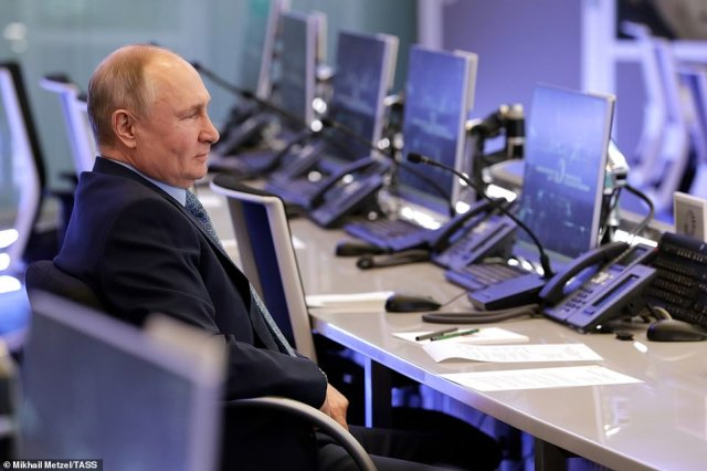 Putin has not yet given a reason for the sudden troop buildup along Russia's border with Ukraine, but observers believe it may be designed as a test for President Biden after he took a tough stance against Moscow