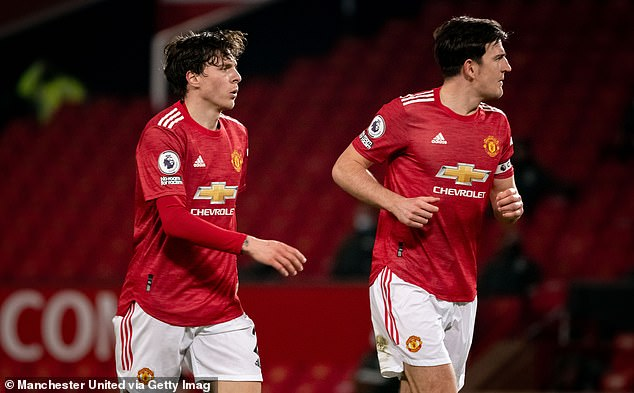 Victor Lindelof (left) and Harry Maguire (right) have been the preferred centre back pairing