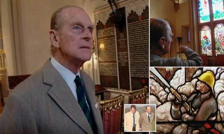 WATCH: Prince Philip's Guided Tour of his Final Sanctuary: Robert Hardman Reveals Unseen Interviews with the Duke of Edinburgh About the Small Private Chapel at Windsor Castle Where his Body Lies Before Funeral on Saturday