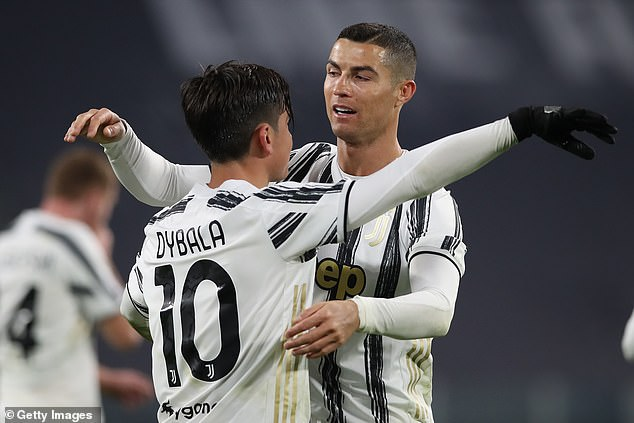 Juventus will be forced sell either Dybala or Cristiano Ronaldo (R), Italian media reports