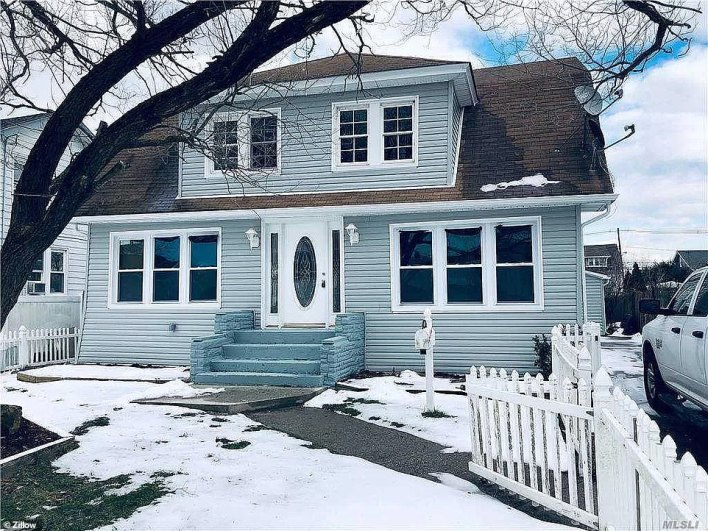 FREEPORT, LONG ISLAND: This property on Saint Marks Avenue sold for $559,000 in March - $10,000 over its original asking price