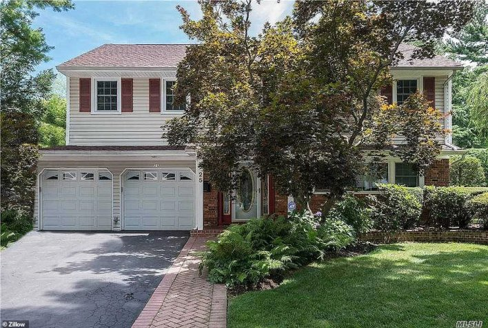 WESTBURY, LONG ISLAND: This colonial-style property on Lynwood Drive went for $720,000 earlier this month, giving the sellers a $20,000 mark-up on the $699,999 asking price