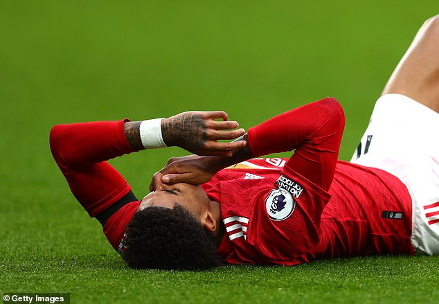 It's been a challenging few weeks for Marcus Rashford, who has been playing through injury