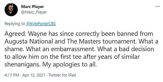 Marc Player condemned his brother's actions, while claiming he was banned.  Marc also opened up about the 2018 incident, which saw his brother arrested for fraud