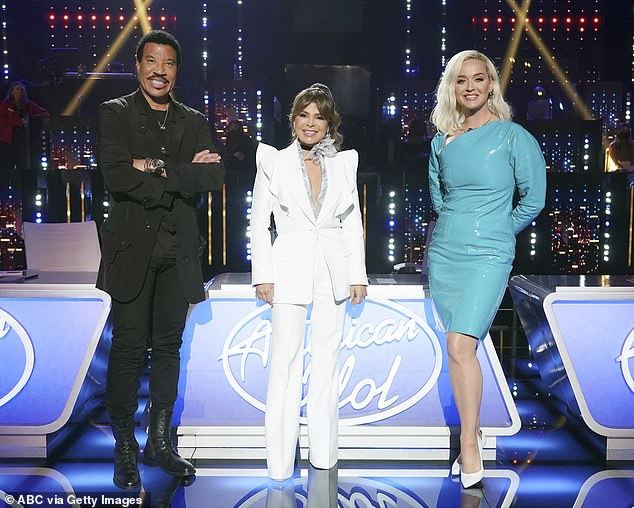 Teamwork:Lionel and Katy both gushed about Paula, who previously served as a judge from 2002 until 2009, 2010, 2013 and 2016
