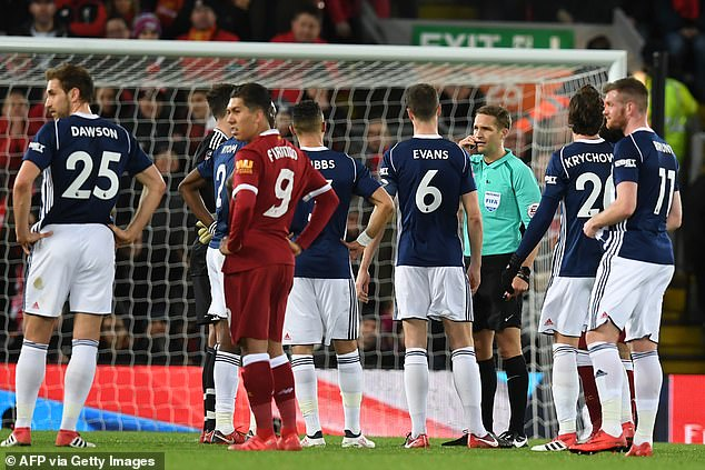 Liverpool lost 3-2 at home to West Brom in the FA Cup in January 2018 and a cracking game was dominated by at least three VAR stoppages involving ref Craig Pawson