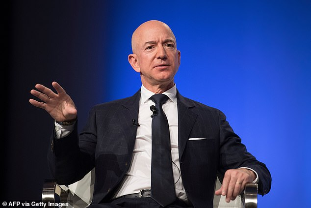 """Jeff Bezos shared some tips during the 2017 interview for Blue Origin's first real passengers.  """"Go to the bathroom ahead of time,"""" Bezos says."""