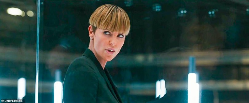 'Brother against brother ... this should be interesting,' Charlize Theron's cyberterrorist character Cipher said. 'But could you kill him?'