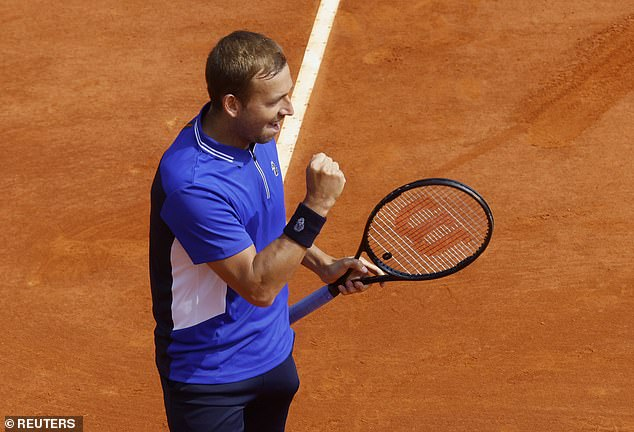 Britain's number one put on a brilliant performance against a below par Djokovic