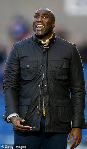 Campbell while manager of Macclesfield