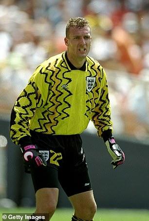Tim Flowers has Seaman's understudy at Euro 96