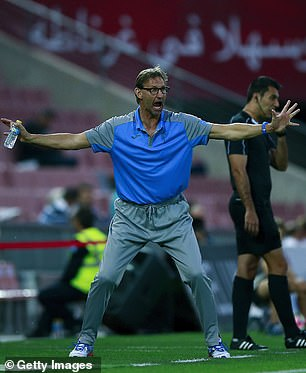 Adams while in charge of Granada in 2017