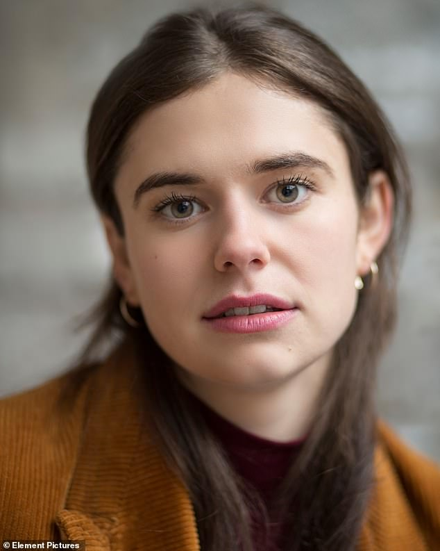 Support: The actor, who rose to fame in the 2018 adaptation of Rooney's best-selling book Normal People, also praised his friend Alison Oliver (pictured), who was cast as the lead character Frances