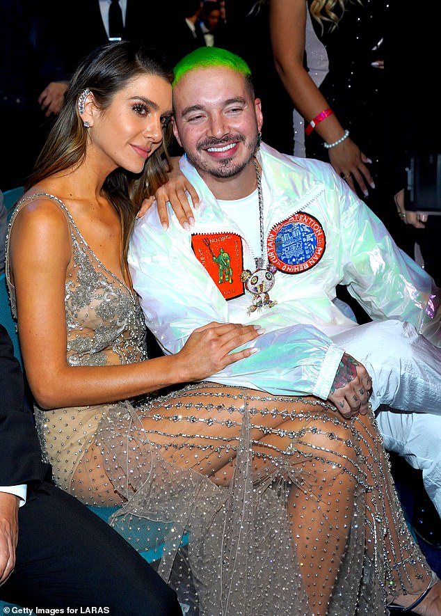 Soon to be parents: Vogue Mexico posted the cover on their Instagram page, with a caption that read (translated from Spanish): `` A picture is worth a thousand words.  Posing for the Vogue lens.  #ValentinaFerrer and #JBalvin confirm that they are expecting a baby and will be parents very soon;  'photographed on November 15, 2018 in Las Vegas at the 19th Annual Latin Grammy Awards