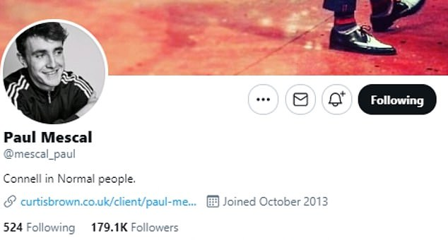 Remains: His Twitter, which has 179.1K, is still active although his last tweet was in August 2020