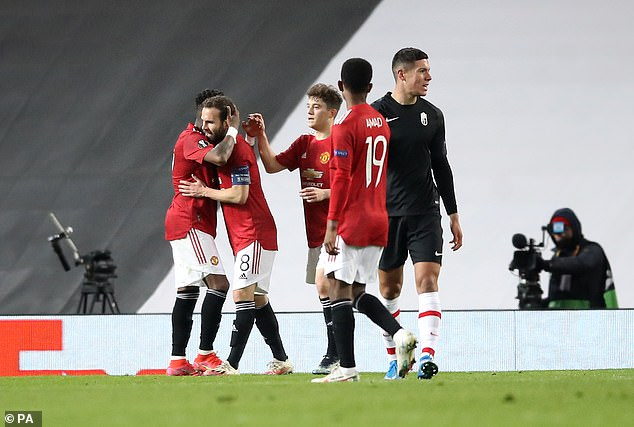Manchester United will now face Roma in the semi-final of the Europa League