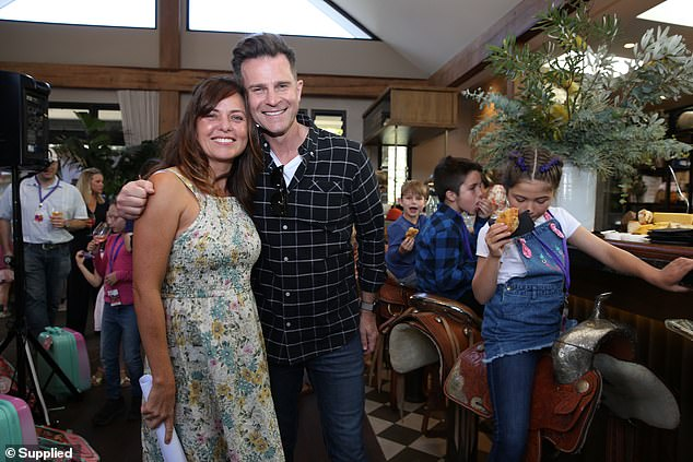 Good friends:Toni and David Campbell's friendship goes way back. David even helped her husband Will propose