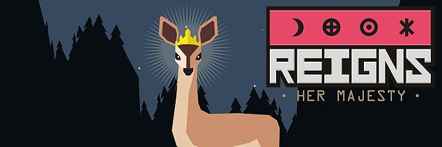 Reigns: Her Majesty (★★★★★, iOS, Android, PC, Switch £2.99) is a funny, compulsive time-filler in which you build a dynasty by swiping at cards