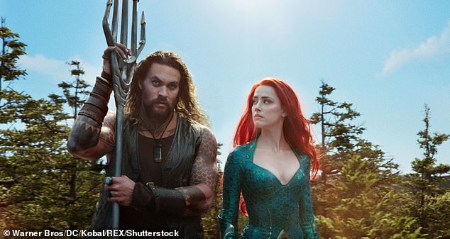 Huge hit: Aquaman was a huge box office hit for the DCEU, earning $ 335 million domestically, second in the DCEU after $ 412.5 million from Wonder Woman