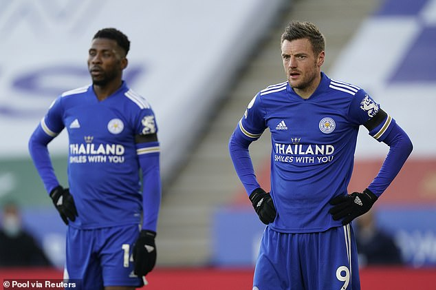 Iheanacho is no longer in the shadow of fellow Leicester stiker Jamie Vardy