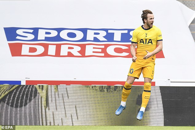 No player has been involved in more goals so far this season than Tottenham's Harry Kane