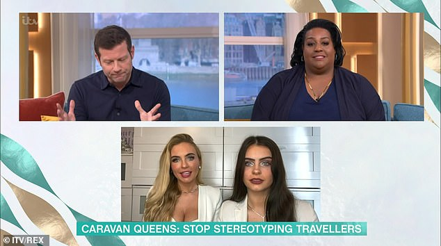 Speaking from their St Albans home, Lizzie told hosts Alison Hammond and Dermot O'Leary that they have been living in a permanent residence for almost ten years.