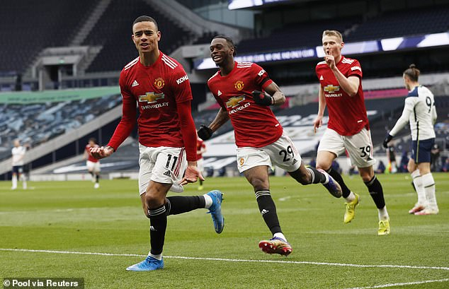 United beat Tottenham 3-1 in their last Premier League outing and take on Burnley next
