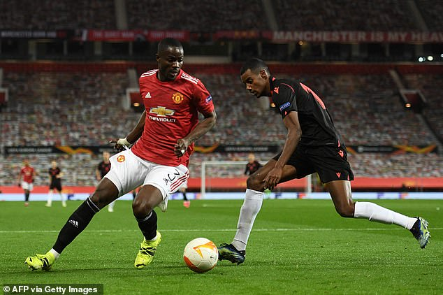 Defender Eric Bailly (left) is likely to be available again after a positive Covid-19 test
