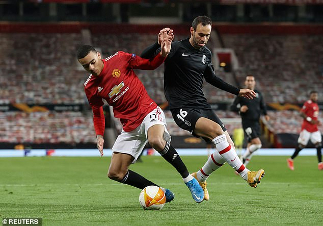 He left the likes of Mason Greenwood (above) and Brandon Williams to find a new path