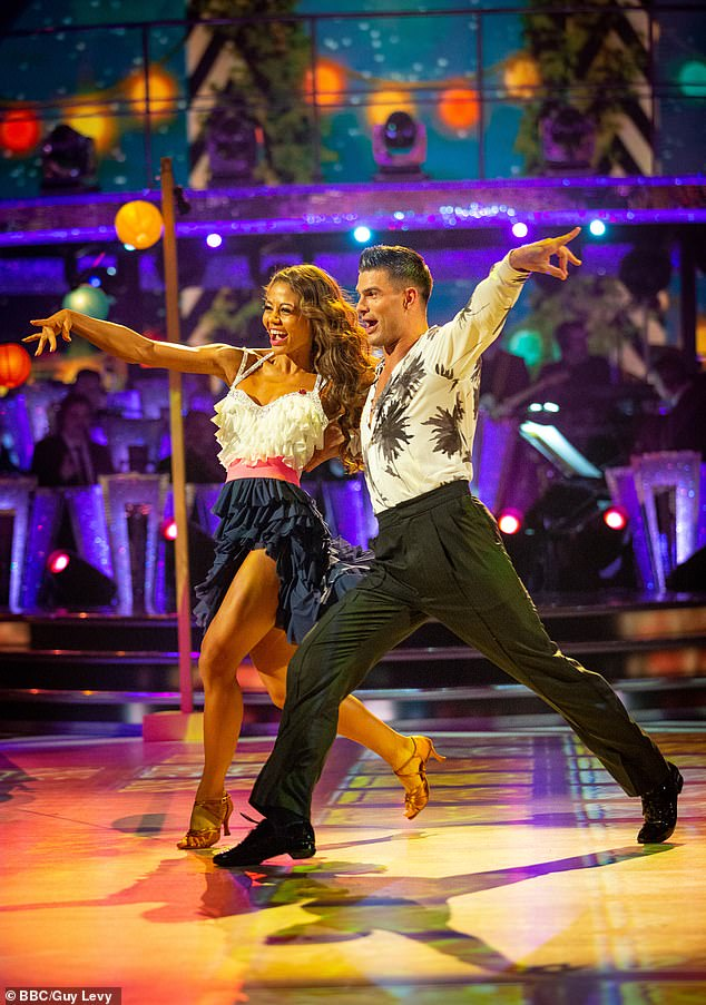 Good friends: Emma and Aljaz were partners on Strictly Come Dancing's 2019 instalment and have have remained friends ever since