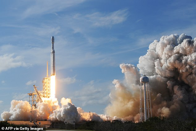 Although Bezos was reaching for the stars, Musk's SpaceX actually sent NASA astronauts into space.  SpaceX launched 116 rockets from its Falcon 9 family, with 114 successful missions