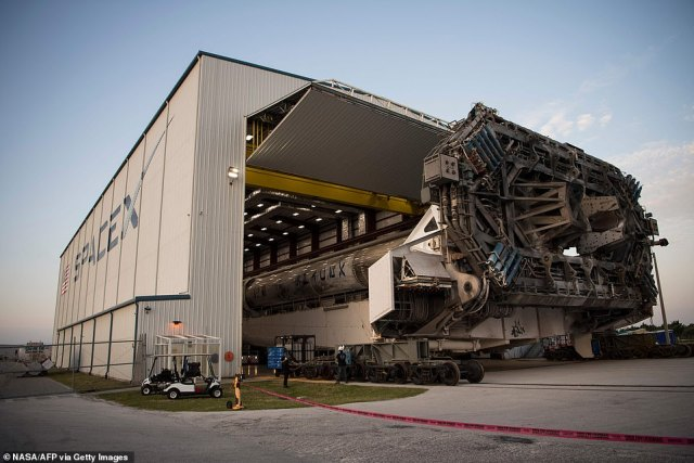 On Thursday, SpaceX and NASA got the green light for launch after the completion of a critical flight readiness review