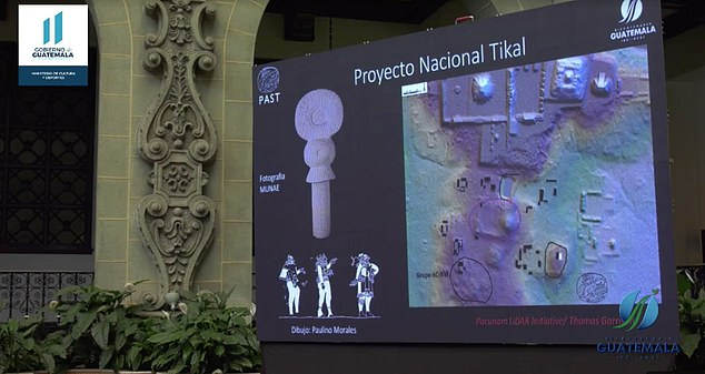 Presentation of images of the Teotihuacan-style `` Citadel '' discovered in Tikal