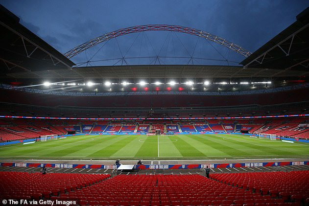 Fans travelling to Wembley for the final on May 15 - which will take place with 21,000 spectators - will have to provide evidence of a recent negative Covid test and take tests afterwards.