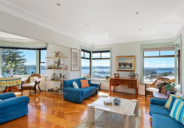 He had also submitted an application to Woolahra Council to renovate the $4.8million mansion (pictured)