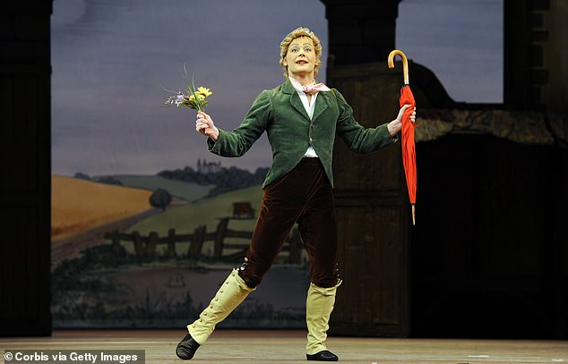 Liam Scarlett as Alain in the Royal Ballet production of Frederick Ashton's La Fille Mal Gardee at the Royal Opera House