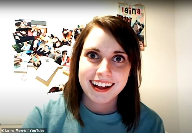 The overly attached girlfriend, from a Laina Morris YouTube video satirically showing her love for Justin Bieber, sold for $ 459,260